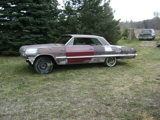 1963 Chevy Impala Project Car For Sale