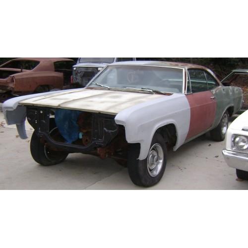 1966 Impala 2 door hard top bench seat