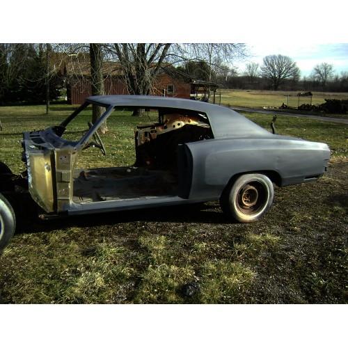 Classic 1970 Monte Carlo Project Car for Sale