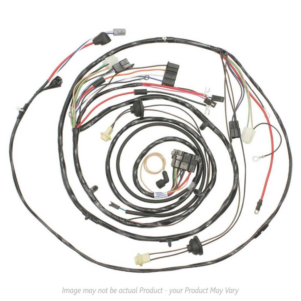 1971 Monte Carlo Wiring Harness Archive Of Automotive Diagram Fuse Box Forward Lamp V8 Engine W Warning Lights Rh Koniksklassiks Com