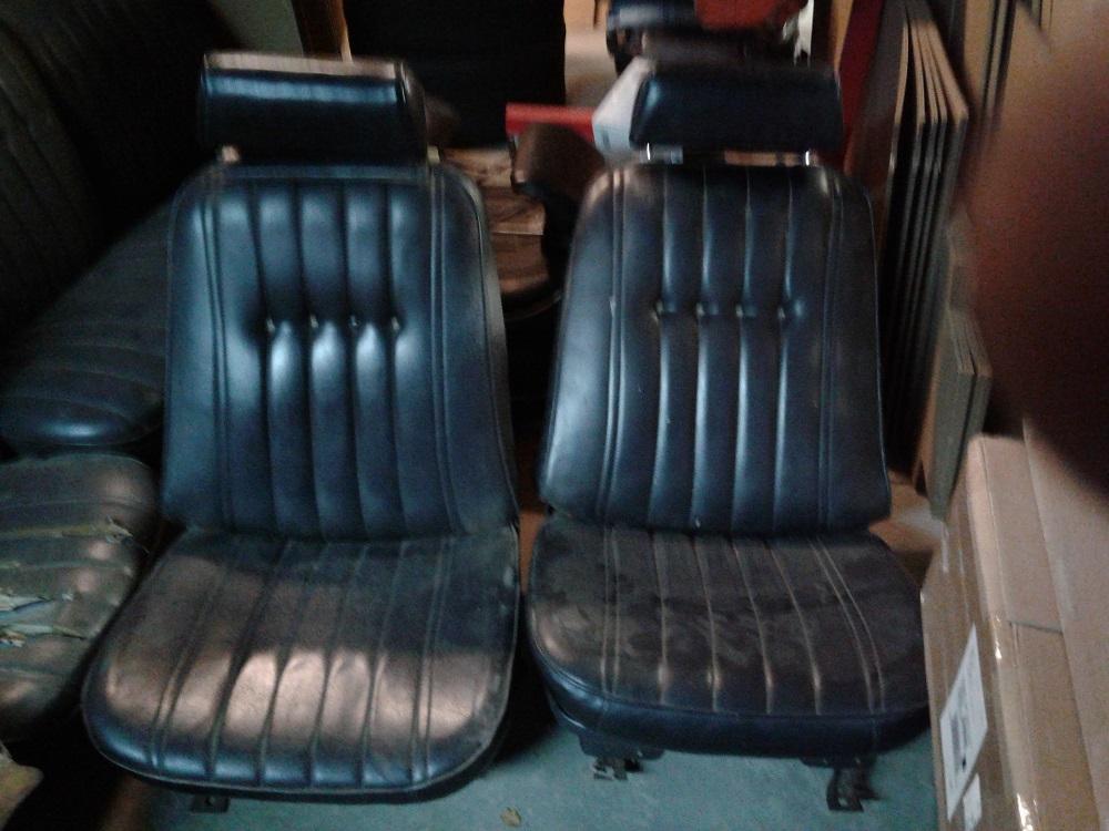 1970 1971 1972 Monte Carlo Bucket Seat Set Used Kku33 Konik S Klassiks