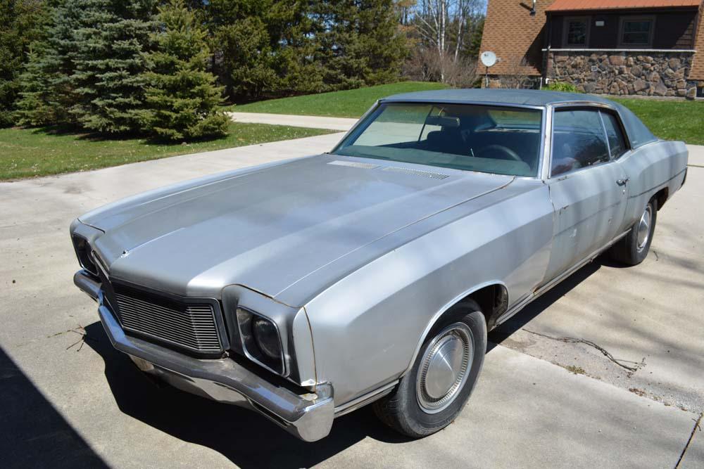 1971 Monte Carlo – Project Car for Sale